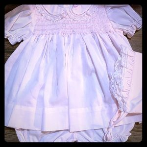 Newborn Smocked Dress